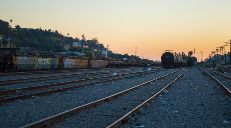 traintrackssunset